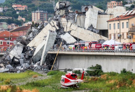 Crollo ponte Morandi: agire perché fatti del genere non accadano più