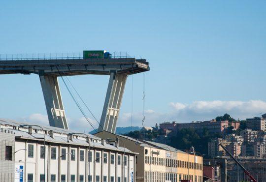 crollo ponte morandi inarsind sul progetto renzo piano