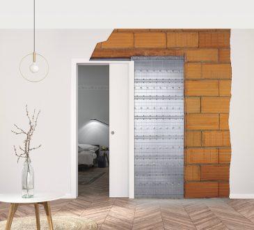 Porte a scomparsa e pareti intonaco: caratteristiche tecniche controtelaio