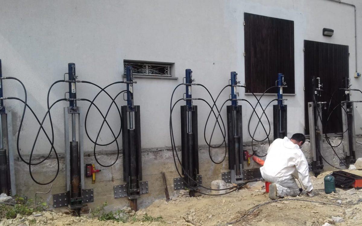 Il consolidamento delle fondamenta con i micropali