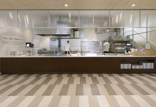 Bistrot Lavazza: un ristorante caffetteria firmato rgastudio con CZA