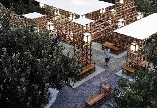 Premiato in Cina il padiglione modulare degli studenti PoliTo