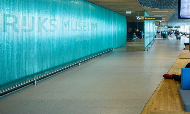 Aeroporto di Shiphol. Vetro e Arte al Rijksmuseum.