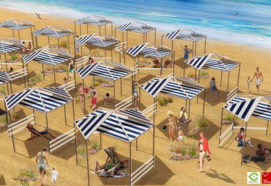 Gli Architetti ripensano le spiagge nel Post Coronavirus