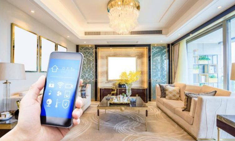 Tecnologie Smart Home nelle case sono il futuro dell'architettura