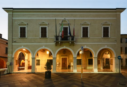 EDIFICIO COMUNALE | Castel Goffredo - Mantova – Italia. Case Study PERFOMANCE iN LIGHTING.